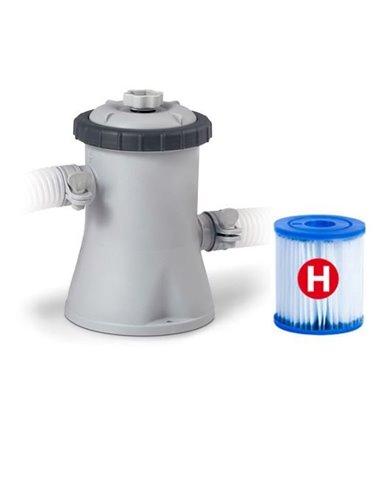 DEPURADORA CARTUCHO KRYSTAL CLEAR 1.250 l/h | INTEX
