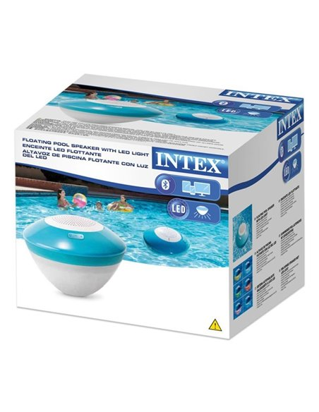 ALTAVOZ BLUETOOTH FLOTANTE CON LUD LED | INTEX