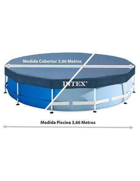 COBERTOR PISCINA  METAL Y PRISMA FRAME 366 cm | INTEX