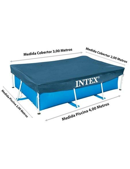 COBERTOR PISCINA  PRISMA Y SMALL FRAME 300x200 cm | INTEX