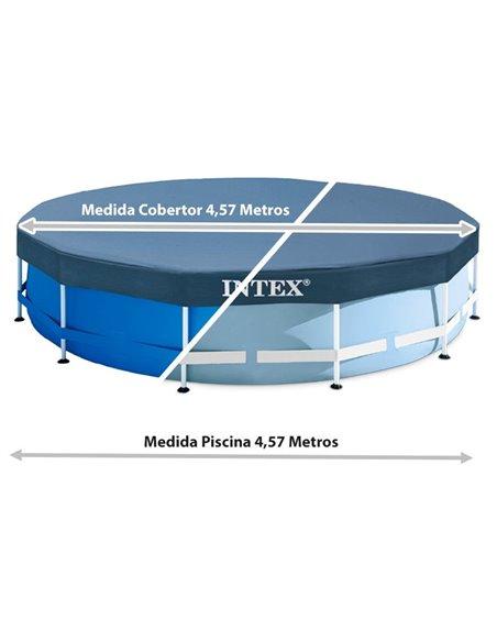 COBERTOR PISCINA  METAL FRAME 457 cm | INTEX