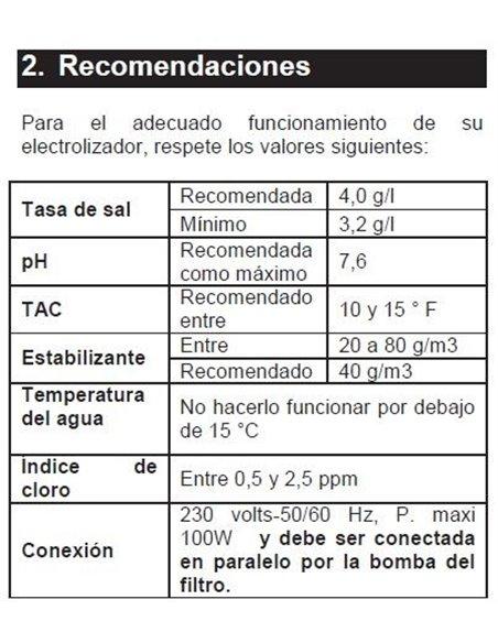 CLORADOR SALINO 55 m3 | GRE