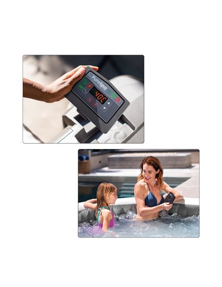 SPA HINCHABLE GREYWOOD DELUXE 6 PERSONAS | INTEX