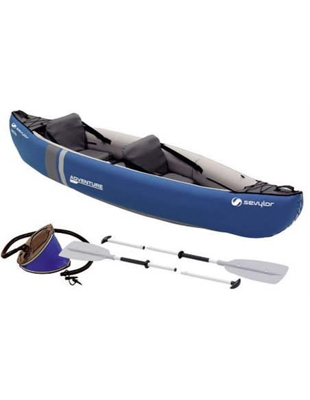CANOA ADVENTURE KIT DOS PLAZAS | SEVYLOR
