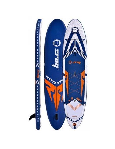TABLA DE PADDLE SURF  365x81x15 CM | ZRAY X-RIDER 12'
