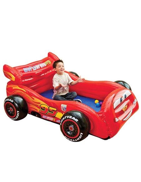 COCHE HINCHABLE CARS  CON COLCHÓN - 180x145x71cm