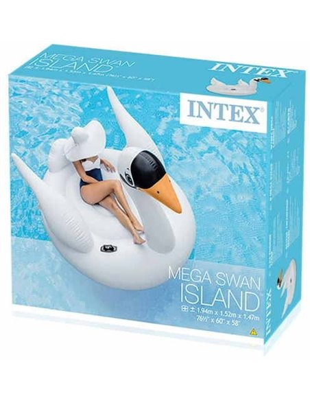 CISNE HINCHABLE  MEGA 194x152x147 | INTEX