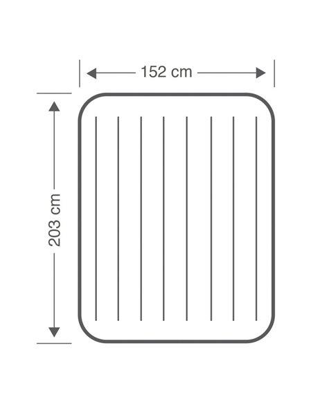 COLCHÓN HINCHABLE DURA-BEAM STANDARD 152x203x25 | INTEX