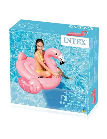 FLAMENCO HINCHABLE 142X137X97 CM | INTEX