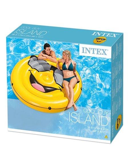 COLCHONETA HINCHABLE XL EMOJI | INTEX