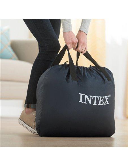 CAMA HINCHABLE DELUXE ULTRA PLUSH HEADBOARD | INTEX
