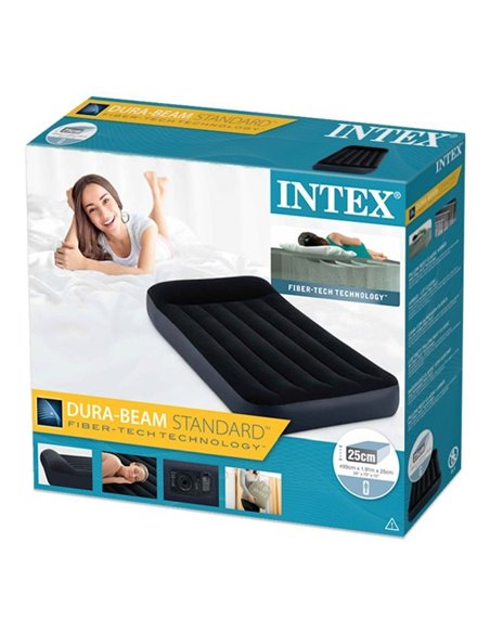 COLCHÓN HINCHABLE PILLOW REST CLASSIC 99x191x25 | INTEX
