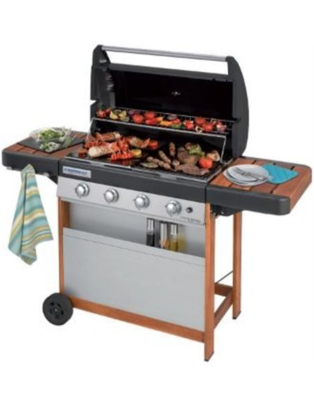 BARBACOA DE GAS PORTATIL 4 SERIES L WOODY | CAMPINGAZ
