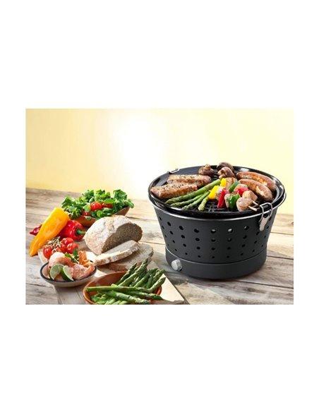 BARBACOA PORTÁTIL SIN HUMO GRILLERETTE CLASSIC | FOOD & FUN