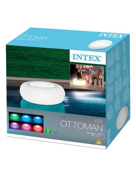 ASIENTO LED FLOTANTE OTTOMAN | INTEX