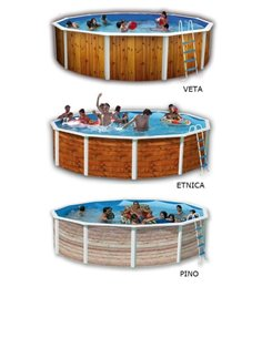 PISCINA SMALL FRAME 220x150x60 (4 PERSONAS)