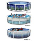 PISCINA SMALL FRAME 220x150x60 - Intex 28270