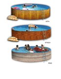 PISCINA HINCHABLE EASY SET 366x76 - Intex 28130