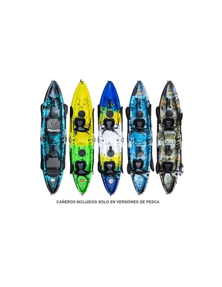 KAYAK RIGIDO DOBLE 370x86x42 | OCEANUS
