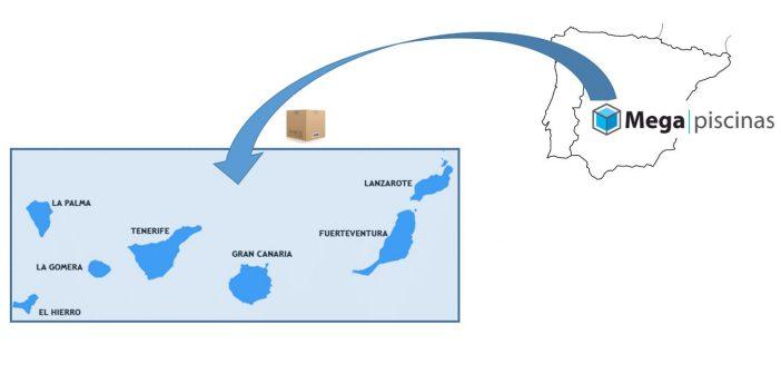Envíos a Canarias | MegaPiscinas