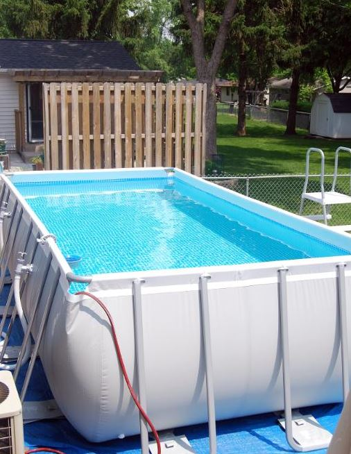 Como montar una piscina desmontable de plastico 2 megapiscinas - Piscinas de montar ...