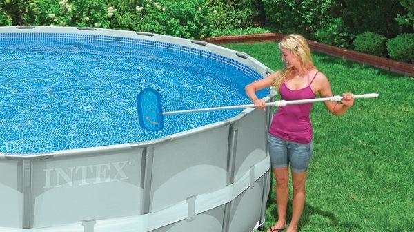 piscina de plastico como limpiar