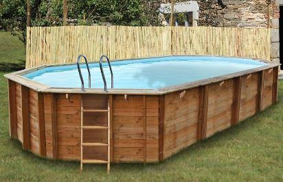 Estrenando piscina de madera megapiscinas - Piscinas desmontables de madera ...