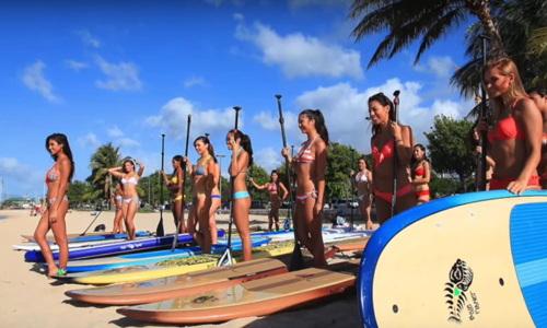 paddle SUP Yoga