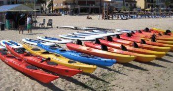 kayaks rigidos y canoas