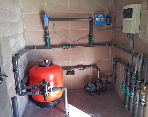 Mantenimiento depuradora de arena para piscina megapiscinas for Depuradora piscina
