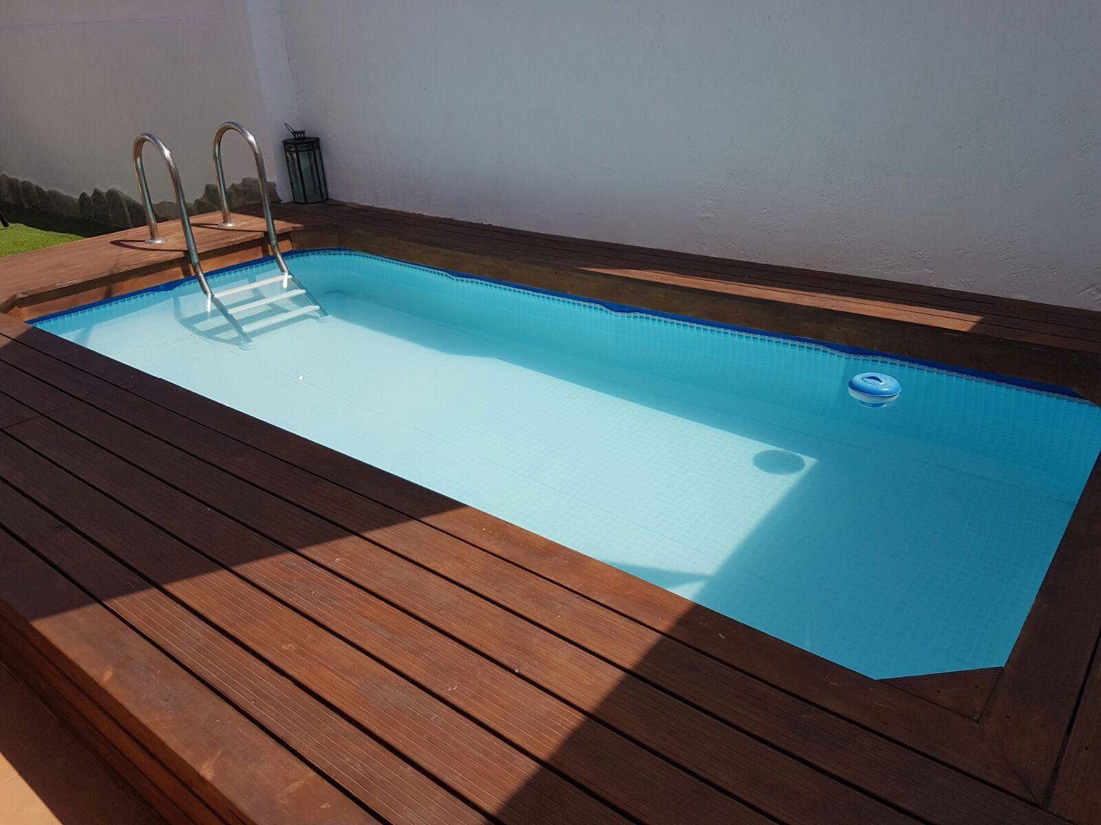 Tratamiento de piscina de madera megapiscinas for Tratamientos de piscinas