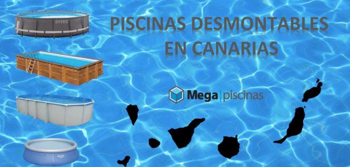 Piscina desmontable en Canarias