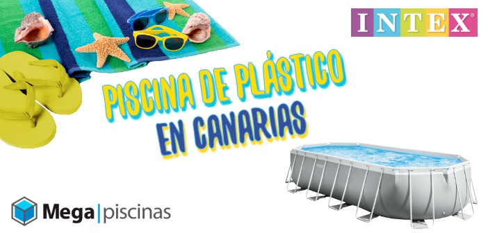 Piscina de plástico